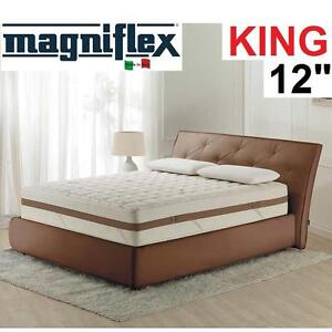 "NEW* MAGNIFLEX MEMORY FOAM MATTRESS - 120838618 - KING 12""- HOME DECOR FURNITURE TERRA DUAL"