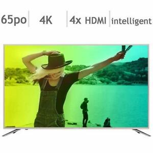 Télévision DEL 65'' LC-65N7000U 4K ULTRA UHD HDR Smart Wi-Fi Sharp - Sharp 65'' LC-65N7000U 4K UHD HDR LED Smart TV