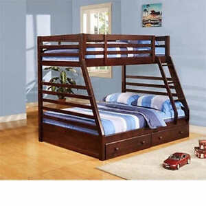 bunk bed new with foam matress only $300.00 or best offer