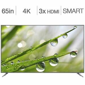 Télévision LED TV 65'' POUCE 65UG6550G HAIER 4K ULTRA UHD GOOGLE Chromecast Built-In - BESTCOST.CA