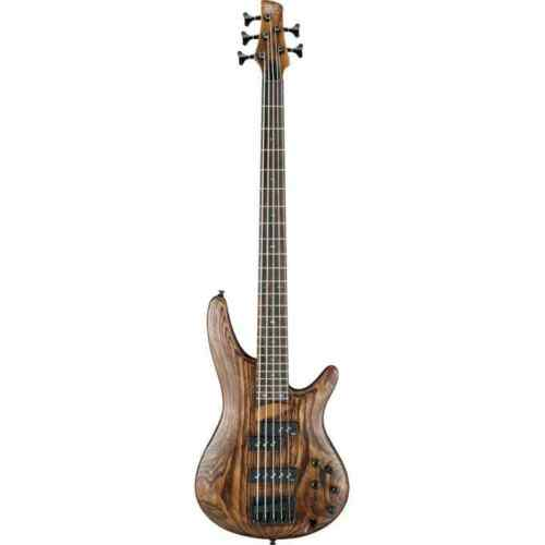 Ibanez SR655-ABS Antique Brown Stained 5 String Electric Bass Guitar