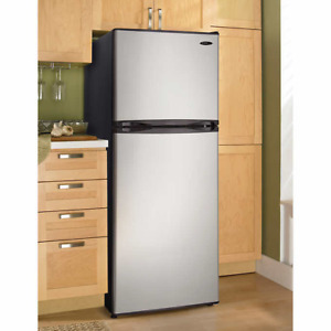Stainless Steel Top Mount 10 cu.ft Refrigerator
