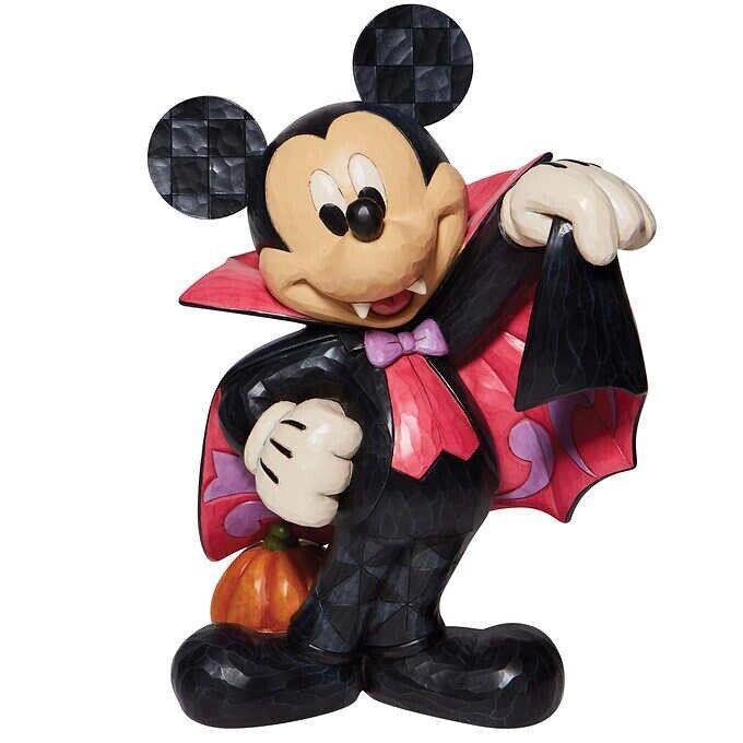 "17"" Disney Vampire Mickey - Decorative Halloween Statue"