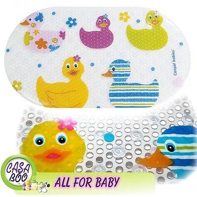 Anti-Slip Bath Mat Non-Slip suction cups Shower bathroom Fun Ducks Baby Safety