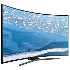 "grand TV Del 4K incurvé 65""UHD Samsung"