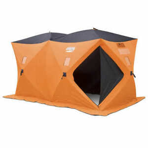 Fish-Inn Retreat Shelter 16' x 8' Instant Storage/Shed/Shop
