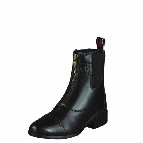 Ariat Ladies Heritage III Zip Paddock Boot in Black