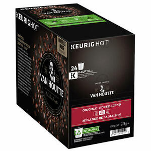 Van Houtte Kcup coffee pods $15 for 24