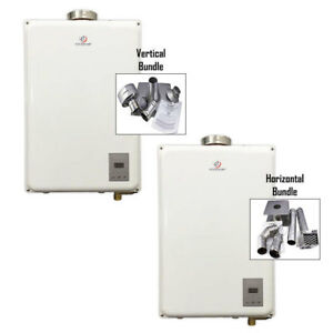 Eccotemp 45HI Propane/Natural Gas Tankless Water Heater + Vent