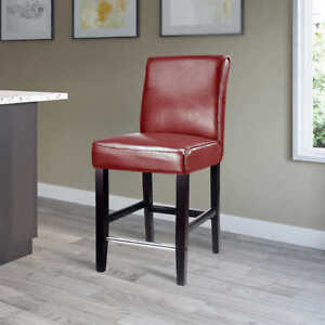 Red Counter Stools (4)