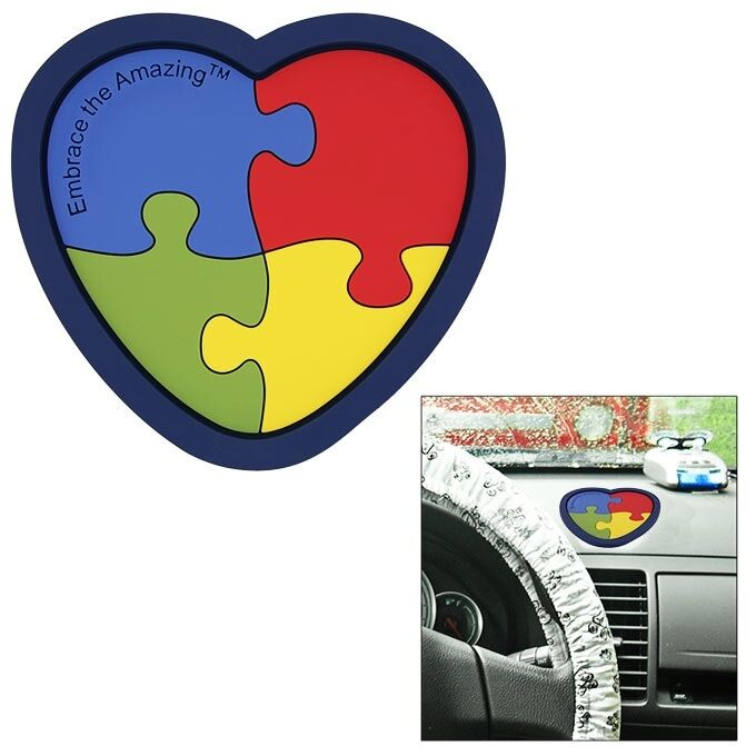 Embrace the Amazing - Autism Awareness Dashboard Accessory Caddy - Sharonsweb