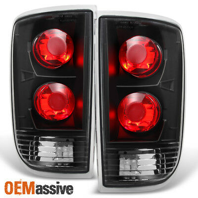 Fit 1995-2004 Chevy Blazer S10 GMC Jimmy Envoy Black Taillights Replacement
