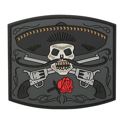 Maxpedition  3D PVC Morale Patch  /  El Guapo Bandito Skull  / SWAT Color