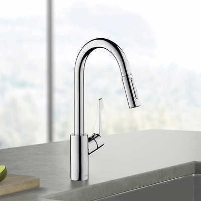 cento kitchen faucet in a chrome finish