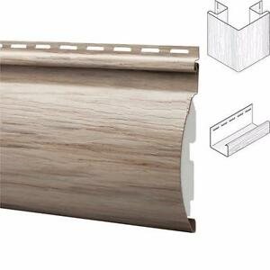 Montebello Insulated Faux Log Vinyl Siding - Plus a large selection of siding products available across Canada