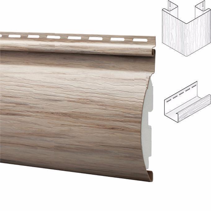 Montebello Insulated Faux Log Vinyl Siding