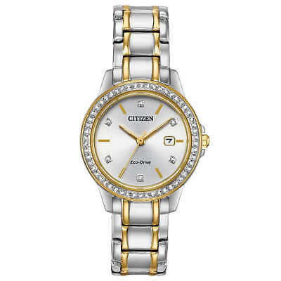 Citizen FE1174-50A Eco-Drive Silhouette Two-Tone Stainless Steel Women's Watch