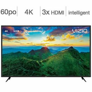 Télévision LED TV 60 POUCE D60-F3 4K ULTRA UHD 120hz Smart Wi-Fi Vizio - BESTCOST.CA