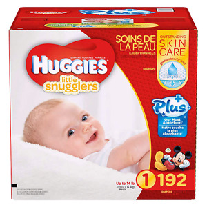Huggies Little Snugglers-Size 1-192 Count