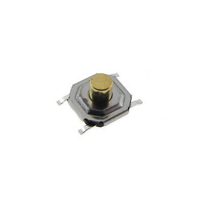 4x4x3mm Tactile Pushbutton Switch Smd Spst - Metal Actuator - Qty30