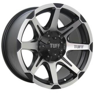 4 NEW 17 INCH TUFF T05 ALLOY RIMS WHEELS NISSAN PATROL HILUX LAND Geebung Brisbane North East Preview