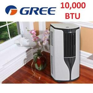NEW GREE PORTABLE AIR CONDITIONER GPC10AK-A3NNA2A/WIFI 186644889 10000BTU DEHUMIDIFIER FANAC REMOTE CONTROL WIFI