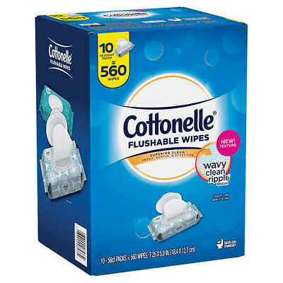 Cottonelle Fresh Care Flushable Wipes, 560 Wipes - Free Shipping! - Best