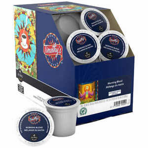 96 Keurig K Cups/Case Timothy's World Coffee