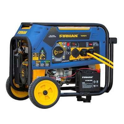 Firman 7500w Running 9400w Peak Tri Fuel Generator