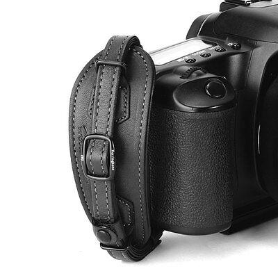 Herringbone Heritage Hand Strap Grip for DSLR Camera Black Type1