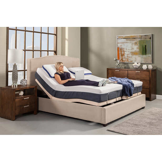 """~~ NEW~~ ADJUSTABLE ELECTRIC BEDS, ALL SIZES WITH 13"""" GEL ME"""
