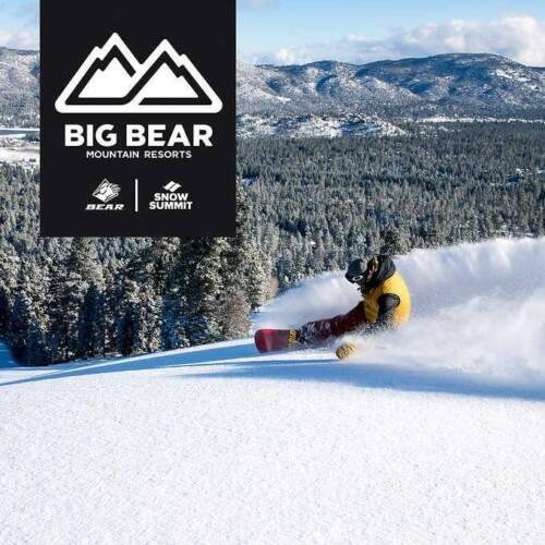 Big Bear Mountain Resort Snow Summit Lift Tickets