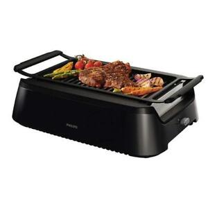 Philips Portable Indoor BBQ Electric Grill HD6372/94 OR HD6371 (Smokeless)  WE SHIP EVERYWHERE IN CANADA ! - BESTCOST.CA