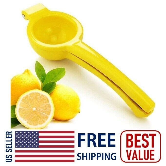 NEW Kitchen & Bar Lemon Juicer Squeezer Hand Press High Qual