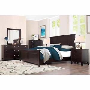 Queen  Bedroom Suite 8 piece brand new