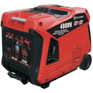 King Canada 4000 W Gasoline Digital Inverter Generator