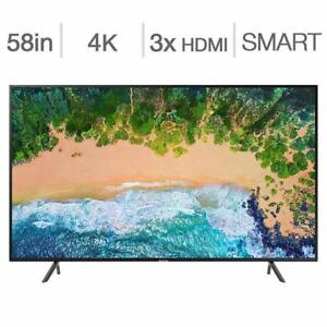 BRAND NEW SAMSUNG 65 4K , UHD, HDR ACTIVE, PURCOLOR, 120MR, WIFI, ULTRA SLIM, TIZEN, APPS, SMARTV