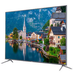 """Haier 55"""" 4K UHD Slim LED TV (Almost New Condition)"""