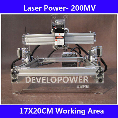 Diy Laser Engraving Machine Laser Engraver Laser Cutter For Wood Plastic Paper