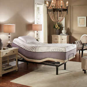 Twin Adjustable Bed with Mattress - BRAND NEW