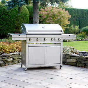 Brand New Propane BBQ Grill Chef Elite