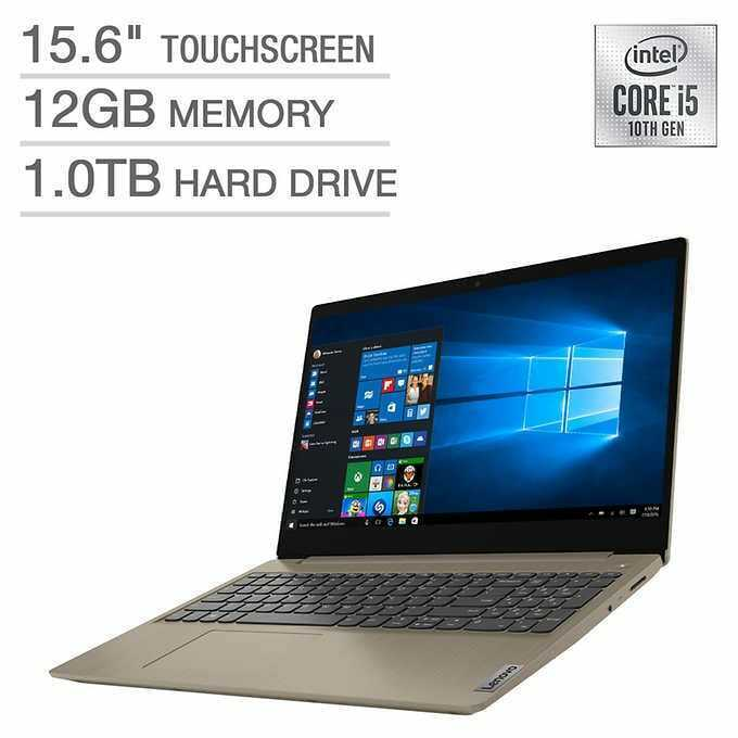 "Brand New Lenovo 81WR000DUS 15.6"" T/S Laptop -- i5-10210U/ 12GB/ 1TB HDD/ Win 10"