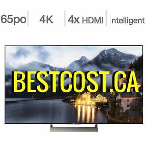 Télévision LED TV 65'' POUCE XBR65X900E 4K ULTRA UHD HDR 120hz Android TV SMART WI-FI Sony - BESTCOST.CA !