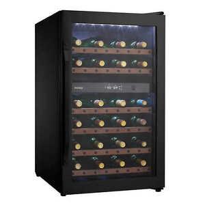 38 bottle, dual zone wine fridge