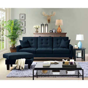 Veletto Sofa-lounger with Ottoman Liquidating Overstock!
