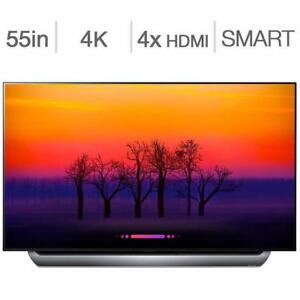 "2018 MODEL BRAND NEW LG C8 OLED 55"" & 65"" 4K,UHD, ACTIVE HDR,THIN IQ,Dolby Vision,Dolby Atmos®, webOS 3.5, SMART LED TV"