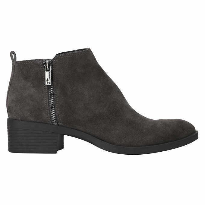 как выглядит Женские замшевые ботильоны Kenneth Cole New York Ladies Suede Ankle Booties Grey Pick A Size фото