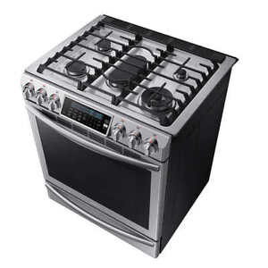 30 in. Slide-In Convection Gas Range with Self-Cleaning