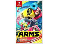 For sale. arms switch game like new condition £35
