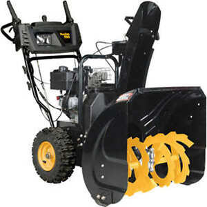 """Poulan Pro 24"""" Gas Powered Dual-Stage Snow Thrower"""